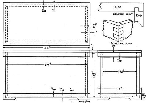 wood cedar chest plans   build  easy diy