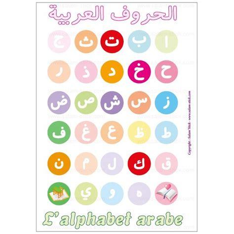 affiche cuisine retro poster de l 39 alphabet arabe