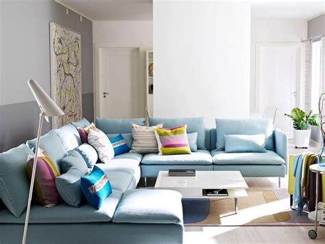 ikea  soderhamn sofa  throw pillows    dark