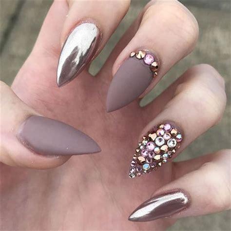chrome nail designs 20 metallic gold chrome nails designs ideas 2017