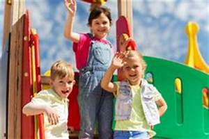 Kids At The Playground. Royalty Free Stock Photography ...