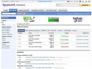 <b>Yahoo</b>! <b>Finance</b> is also compatible with