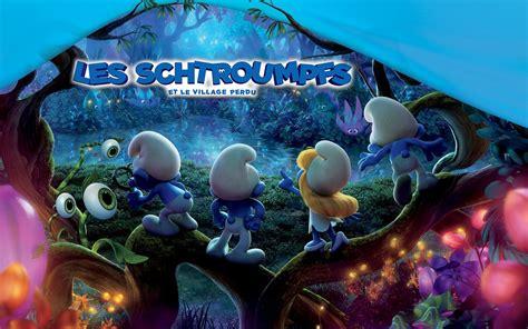 les schtroumpfs  le village perdu smurfs  lost village