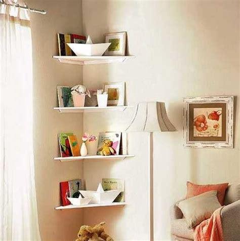 Bedroom Shelf Ideas by Corner Shelf Ideas For Small Bedroom Storage Solution