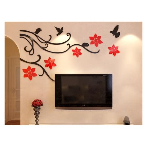 Wavy metal art urban wall sculpture eclectic modern accent curved abstract decor. Buy Flower Vine Corner Bail Acrylic Wall Art at   Elifor.pk