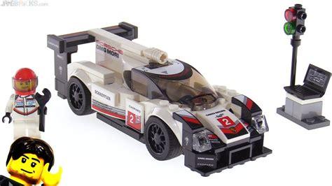 lego speed chions porsche lego speed chions porsche 919 hybrid review 75887