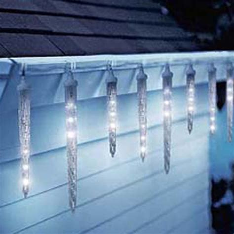 led icicle lights reviews led dripping icicle lights northern lights and trees