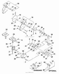 Bunton  Bobcat  Ryan 544874e Lawnaire 28 Parts Diagram For