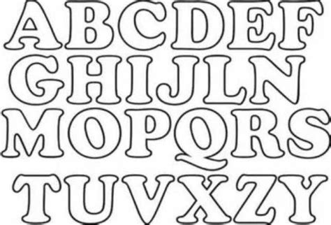moldes letras abecedario grandes para imprimir vera letras grandes para imprimir letras