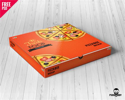 The free psd product gives you a great opportunity to showcase your creative ideas on the transparent plastic cups. Download Pizza Box Mockup Free PSD | PsdDaddy.com