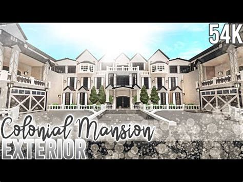 French Colonial Mansion *Exterior* | Nixilia | Roblox ...