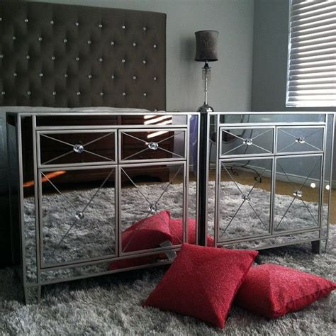 Home Goods Nightstands by Gorgeous Mirrored Nightstands From Homegoods Majorscore