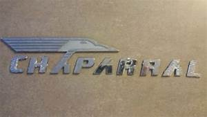 decals for sale page 139 of find or sell auto parts With chaparral chrome lettering