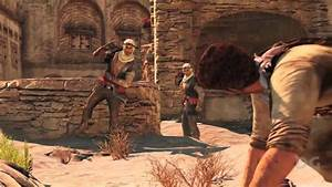 Uncharted 3 Desert Gameplay (Chapter 19 - The Settlement ...