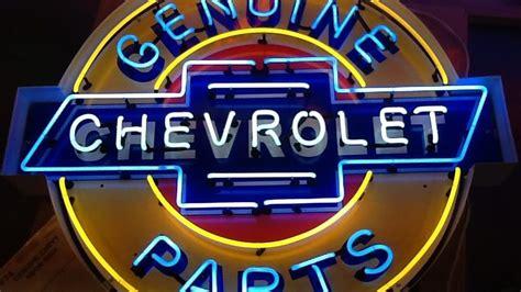 Genuine Chevrolet Neon Sign