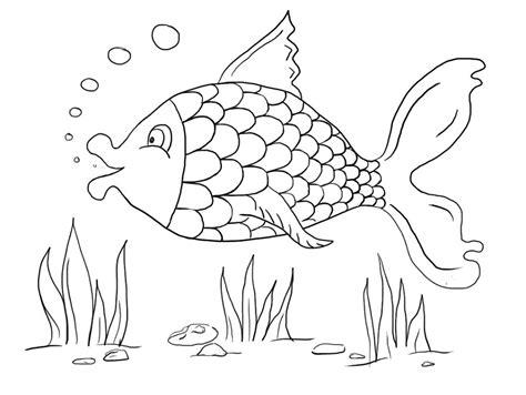 Coloring Ikan by Fish Color Sheet Printable Activity Shelter