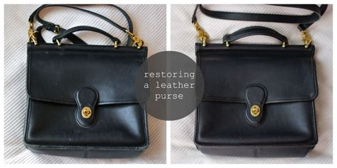 restoring leather purse cleaning leather repair
