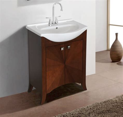 24 inch vanity with sink 24 inch transitional single sink vanity in royal walnut