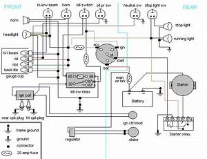 2001 Yamaha V Star 1100 Wiring Diagram