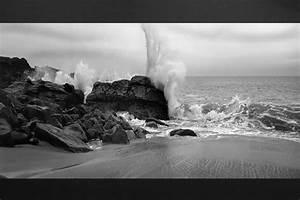 Tableau Photo Noir Et Blanc : tableau noir et blanc fracas izoa ~ Melissatoandfro.com Idées de Décoration