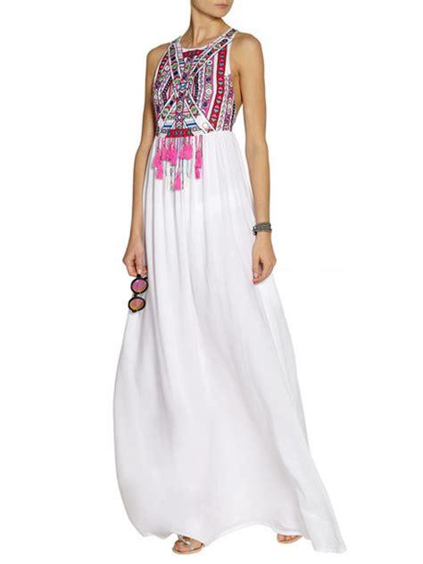 Tribal Maxy Dress boho tribal halter neck summer maxi dress gonchas