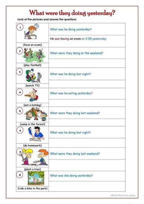 simple sentence writing activity  practise