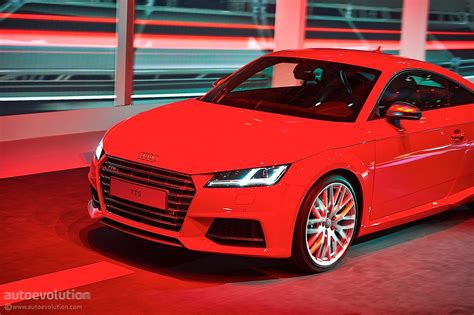 New Audi Tt And Tts Coupes Get Evolutionary Styling And