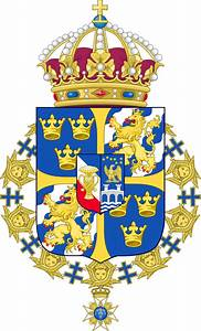 File:Greater coat of arms of Sweden (without ermine ...