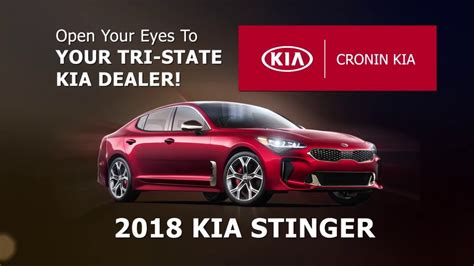 Cronin Kia by Kia Stinger Cronin Kia Harrison Ohio