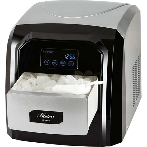 table top ice machine hostess im03a table top ice maker with digital display in
