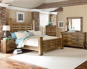 Natural wood bedroom furniture ohio trm furniture for Wood bedroom set