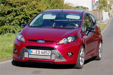 Ford Fiesta St Concept Debutto Al Salone Di Francoforte