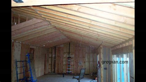 long sagging double roof rafters structural engineering