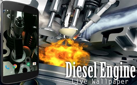 3d Engine Animation Wallpaper - diesel engine live wallpaper android apps on play