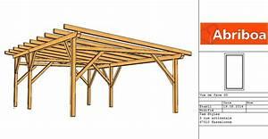 Abriboa Hangar bois monopente