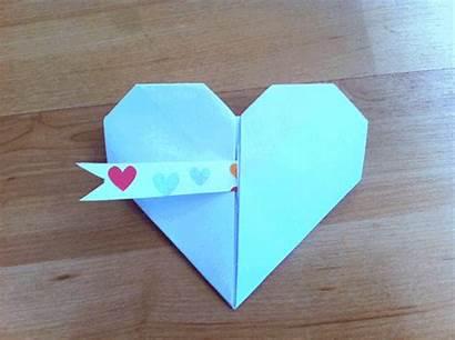Hacer Manualidades Origami Papel Corazon Como Mi