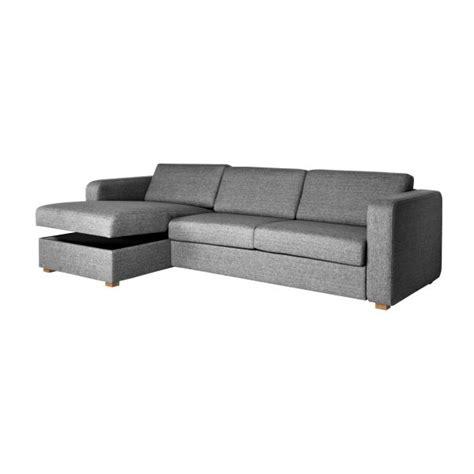 canapé lit avec rangement porto canapés canapé d 39 angle convertible gris foncé tissu