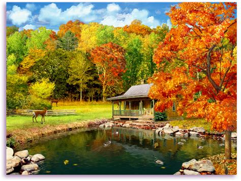 Animated Autumn Wallpaper - free fall screensavers wallpaper