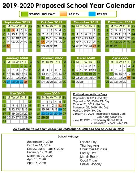 school year calendar keewatin patricia district school board