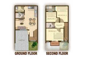 stunning floor plans for townhouses town house plans townhouse 2012002 view4 thraam