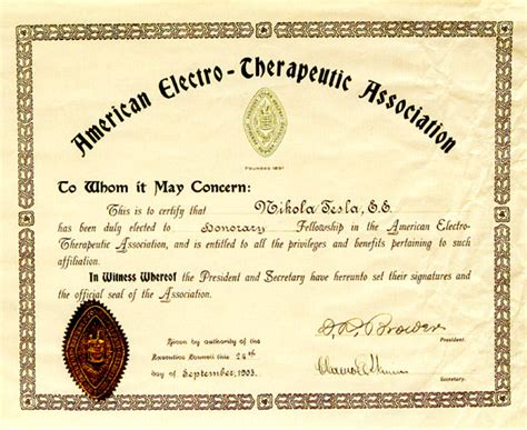 honorary membership certificate   american
