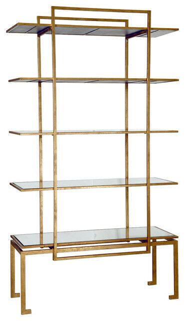 Gold Etagere by Anitique Gold Etagere 5 Mirror Shelf Asian Style
