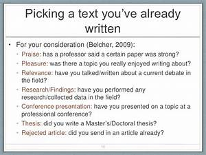 Breaking Down the Article Writing Process for New Academics
