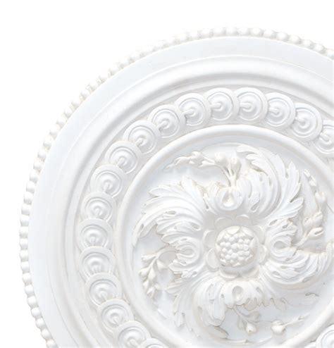 Small Plaster Ceiling Rose by Old Small Bead Plaster Ceiling Rose 430mm