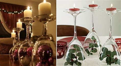 Bicchieri Decorati Per Natale by Tavola Di Natale Le Decorazioni Fai Da Te Pi 249 Facili