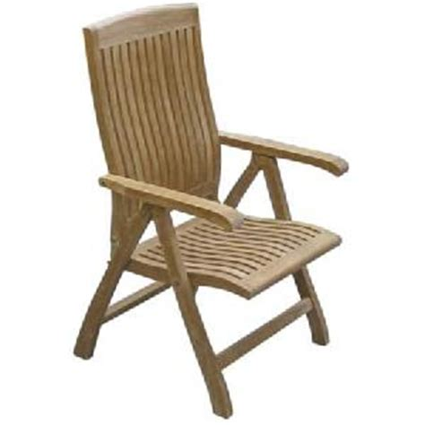 teka curve reclining dorset chairs solid teak outdoor