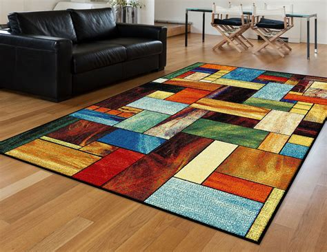 abstract area rugs tayse rugs avon cerise abstract area rug 5 3 x 7 3