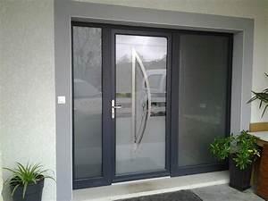 Baie Vitrée Avec Volet Roulant : remplacement porte de garage par baie coulissante avec ~ Melissatoandfro.com Idées de Décoration