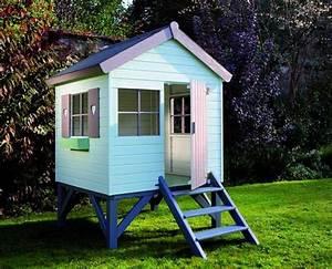 Maisonnette En Bois Sur Pilotis : cabane en bois pour enfant sur pilotis 147x182x210cm ~ Dailycaller-alerts.com Idées de Décoration