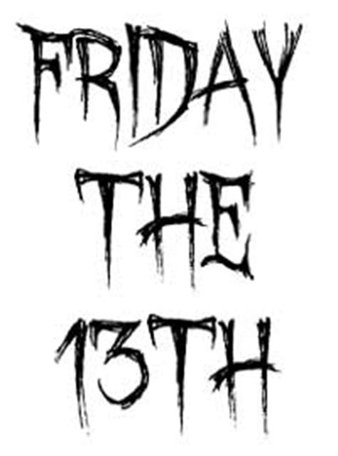 friday 13th clipart friday 13 clipart clipart suggest